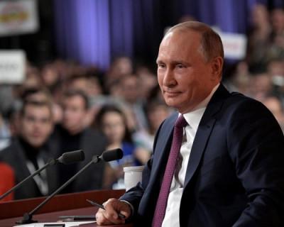 Большая пресс-конференция Владимира Путина. Всё, что происходило на главном событии 2019 года (ФОТО И ВИДЕО)