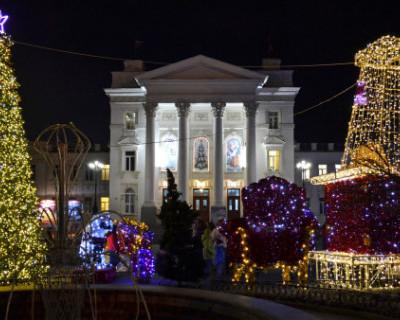 ТОП-6 севастопольских новогодних елок