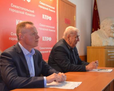 Севастопольские коммунисты решили, что в Заксобрании можно жить, как при коммунизме?