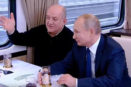 Владимир Путин открыл движение поездов по Крымскому мосту
