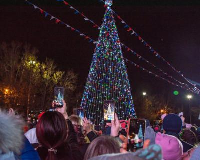 Новогодняя программа в Севастополе (ВИДЕО)