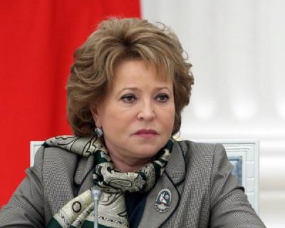 Матвиенко предложила бесплатно давать квартиры многодетным семьям
