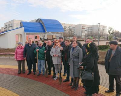 «Зелёный» подарок крымчанам от «ИнтерСтрой»