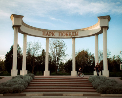 Чиновники правительства Севастополя заглянули в Парк Победы и остались довольны (ВИДЕО)