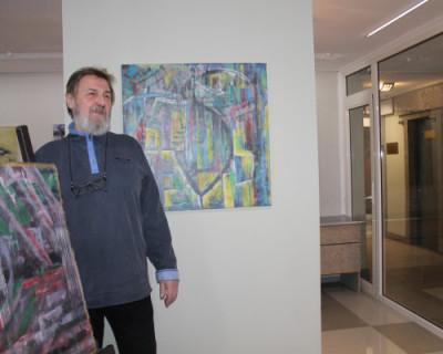 Севастопольские «козероги» открыли выставку  абстракционизма (ФОТО)