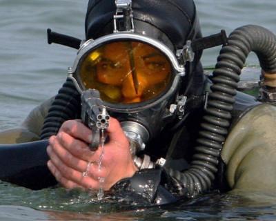 В Крыму и Новороссийске боролись с подводными диверсантами