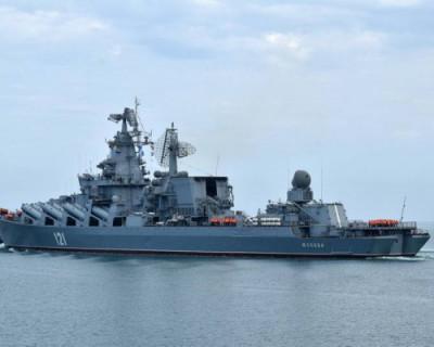В Севастополе заканчивают ремонт крейсера «Москва»
