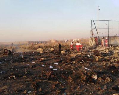В Иране разбился украинский самолет (ВИДЕО)