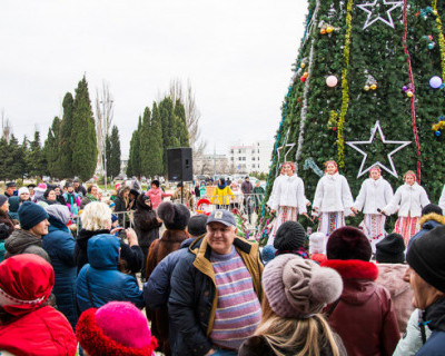 В севастопольском ДКР отметили Рождество