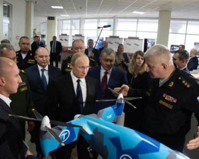 Владимир Путин посетил Черноморское высшее военно-морское училище