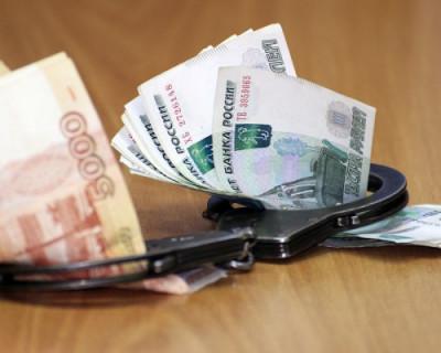 Первое задержание чиновника в Крыму в 2020 году (ВИДЕО)