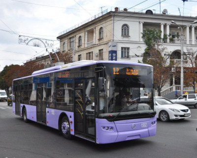 В Севастополе до 9 февраля изменена схема движения троллейбусов