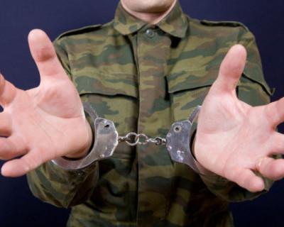 В Крыму осудили солдата за дезертирство