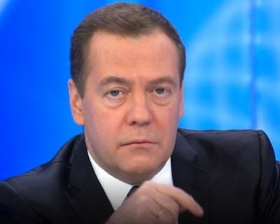 Дмитрий Медведев весьма оригинально поздравил россиян со Старым Новым годом