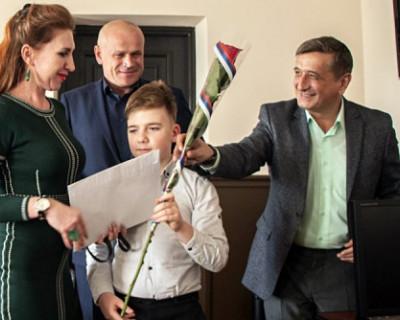 Сергей Аксенов исполнил мечту крымского мальчика