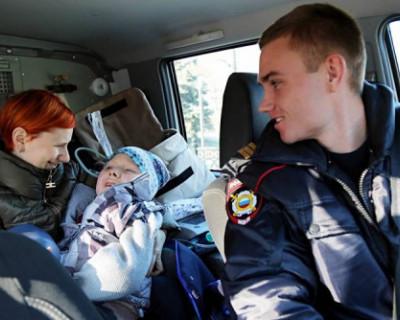 Полицейские Симферополя исполнили мечту ребенка-инвалида