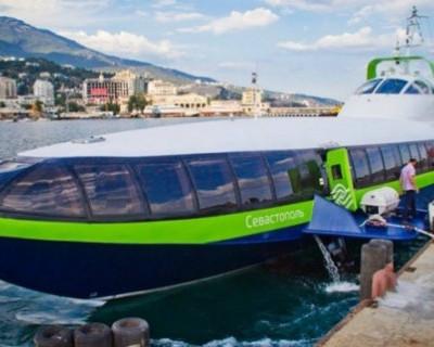 В Крыму начали строить скоростные суда на подводных крыльях