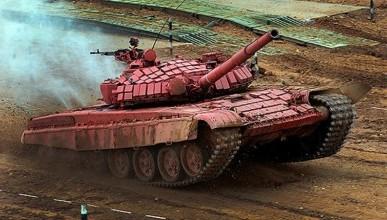 В марте в Крыму пройдёт танковый биатлон