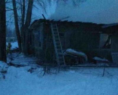 Во время пожара в Томской области погибло 11 человек