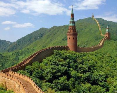 Путин решил построить Великую Русскую стену