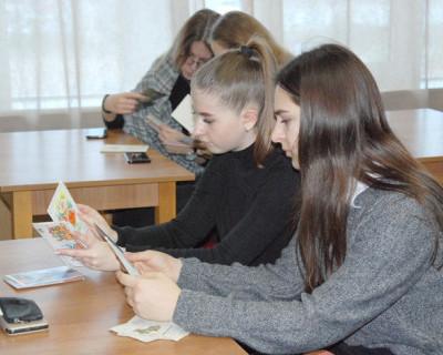 Дети севастопольцев учились красиво писать (ФОТО)