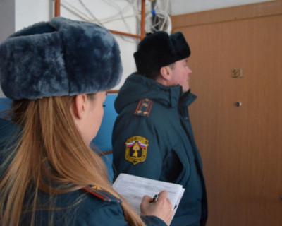 Сотрудники МЧС Севастополя стучатся в двери севастопольцев