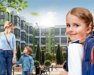 Школа и садик в ЖК «Доброгород» от «ИнтерСтрой»
