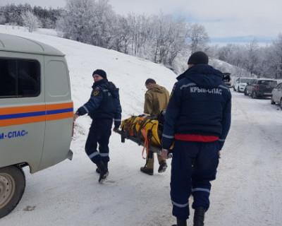Девушка из Севастополя получила травмы, катаясь на санках