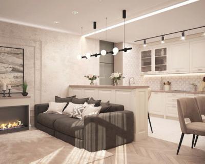Элегантная квартира-студия в Севастополе от «ИнтерСтрой»
