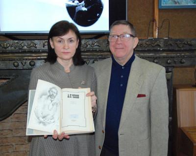 В Севастополе состоялась встреча «Прогулка с Чеховым по Крыму»