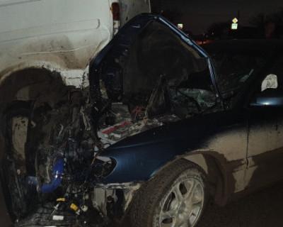 Пьяный водитель «влетел» в припаркованную ГАЗель в Симферополе
