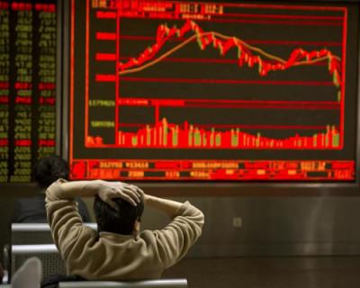 Китайские биржи рухнули сразу же после открытия