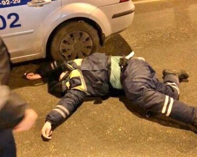 Под Симферополем сбили сотрудника ГИБДД