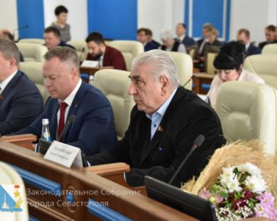 Открытие сессии Заксобрания Севастополя НЕ прошло без сучка и задоринки