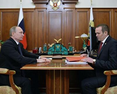 Путин рассказал о бывшем главе Чувашии