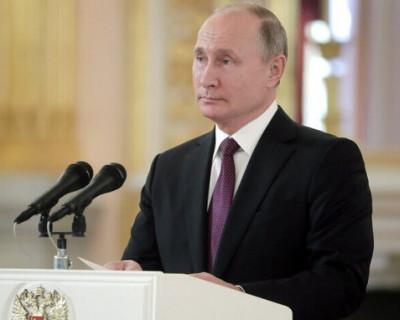 Владимир Путин: «Человечество оказалось у последней черты» (ВИДЕО)