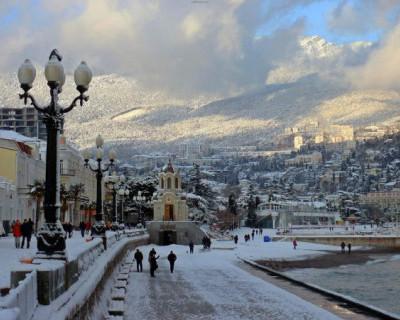 На выходных в Крыму до 10 градусов мороза