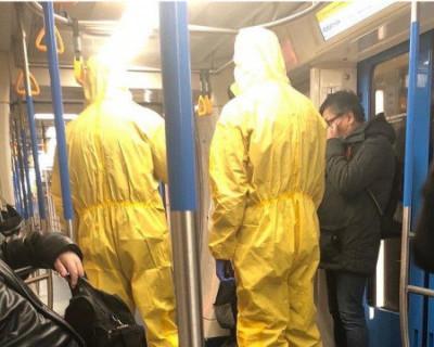 В Москве разыскивают пранкеров, которые пугали пассажиров метро коронавирусом