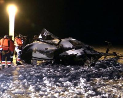 В Следкоме назвали основные версии аварии вертолёта, в котором погиб депутат Госдумы Айрат Хайруллин (ВИДЕО)