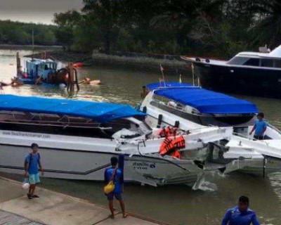 Дети из России погибли при столкновении катеров в Таиланде (ВИДЕО)