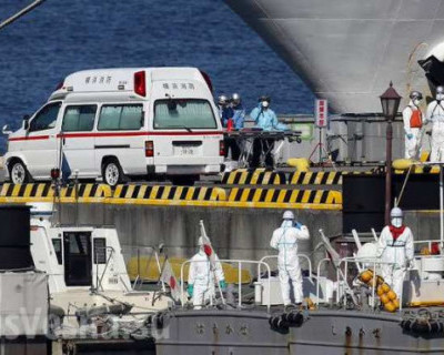 Корабль-призрак: роскошный круизный лайнер стал эпицентром эпидемии коронавируса в Японии
