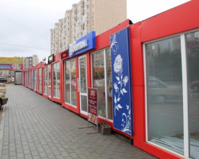 В Севастополе некие лица установили 11 павильонов на автостоянке