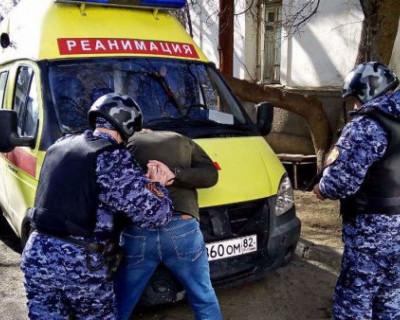 Пьяный крымчанин напал на врачей «Скорой помощи»
