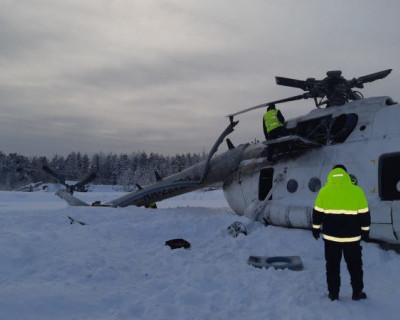 В результате жесткой посадки в Ямало-Ненецком автономном округе вертолета Ми-8 есть погибшие