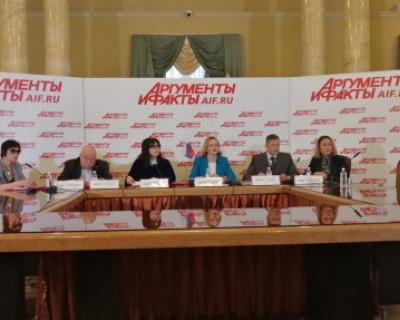 В Москве севастопольцы рассказали о настоящем и будущем Конституции России