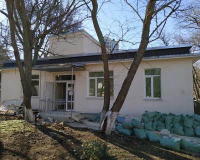 В Севастополе продолжается ремонт поликлиники онкодиспансера