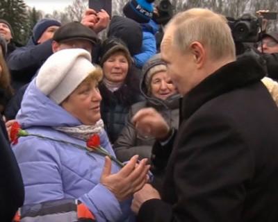 Мнение Путина: как прожить на пенсию 10 800 рублей (ВИДЕО)