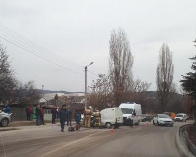 Серьезное ДТП в Балаклаве (ФОТО)