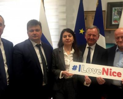 Ялтинская делегация посетила Францию