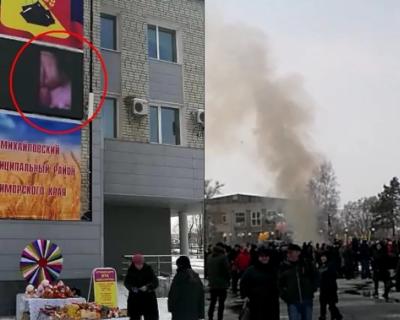 В Приморье на празднике Масленицы показали гей-порно